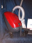 Miele Classic C1 Turbo Team Vacuum In Blue Sban0 Plus Bags And Extras