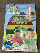 Brand New Sealed Eggmazing Easter Egg Decorator Kit 8 Color Non Toxic Markers