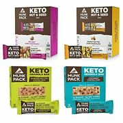 Munk Pack Keto Granola And Nut And Seed Bars 48 Pack 12 Pack Coconut Cocoa Chip,