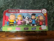 Peanuts Just Play Figure Set The Gangand039s All Here 5 Pack Snoopy Charlie Brown