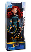 New Disney Store Exclusive 17 Brave Princess Singing Merida Doll Bow And Arrow