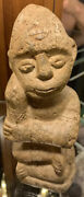 Old Antique Carved Stone African Man Artifact Relic Statue Sculpture Primitive