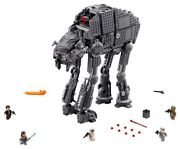 Lego 75189 First Order Heavy Assault Walker. No Box. Sealed Bags W/ Minifigures