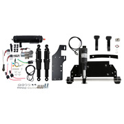 Electric Center Stand Air Ride Suspension Tank Fit For Harley Touring 09-16 2015
