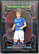 2019-20 Panini Obsidian =nicolo Zaniolo= Rc Rookie Red Pitch Black And039d /22 Italy