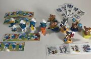 Huge Lot Of Kinder Egg Surprise Toys From The 1980and039s To Now Smurfs Tom And Jerry O