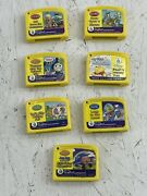Leapfrog Game Cartridges Only Lot Of 7 My First Leappad Games Only