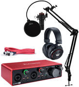 Focusrite Scarlett 2i2 Studio 3rd Gen Usb Audio Interface Bundle With Pro Tools