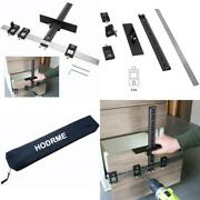 Cabinet Drawer Drilling Template Jig-door Handles And Knobs Hardware Punch Locat