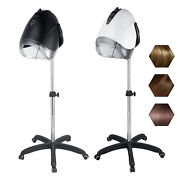 Floor Stand Salon Hair Oil Treatment Machine Hairdressing Tool With Wheels