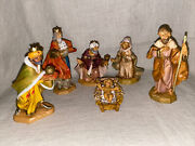 Fontanini Heirloom Nativity Collection - Baby Jesus, Mary, Joseph And The 3 Kings