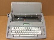 Brother Sx-4000 Lcd Digital Display Portable Electronic Typewriter With Cover