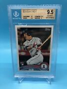 2011 Mike Trout Topps Update 175 Rc Sp Bgs 9.5 - 10 Centering Gem Mint Angels