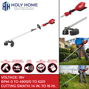 New Milwaukee 2825-20st M18 Fuel Cordless String Trimmer W/ Quik-lok Tool Only