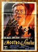 Poster Movie Memorabilia The Two Faces Of Dr Jekyll Fisher Hyde Horror Hammer