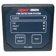 Fireboy-xintex 1 Zone Fire Detection And Alarm Panel Fr-1000-r