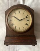 Old Vintage Hamburg American Clock Hacl Small Mantle Clock - Parts Only