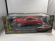 1/18 Greenlight 1976 Ford Mustang Ii Mach I Coupe Red/red Limited Edition 12867