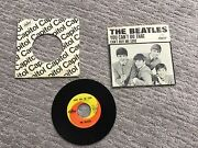 The Beatles Canandrsquot Buy Me Love 45rpm With Original Sleeve