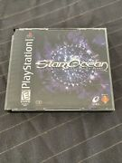 Star Ocean The Second Story Sony Playstation 1 Ps1 1999 Complete With Manual