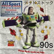 All Sports Disney Toy Story Buzz Lightyear Vintage T-shirt Maid In Usa