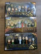 Pez Ultimate Collectors Series Lot - The Hobbit Lord Of The Rings Eye Of Sauron