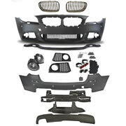 Set Kit Bumper Front Rear Grill For Bmw F11 Year 10-13 Sport Look Series Touring