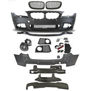 Set Kit Bumper Front Rear Grill For Bmw F11 Year 10-13 Sport Look Touring