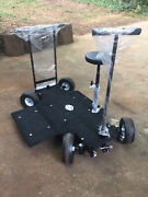 4 Wheel Steering Doorway Prima Dolly For Professional Film Video Production