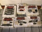 6 Box Lot Hawthorne Village Fire Fighters Heroes Express On30 Scale Train Set