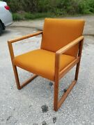 Stow And Davis Mid Century Modern Arm Chair Vintage Mcm Furniture Pickup Ct