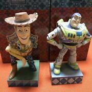 Toy Story Tradition Woody Buzz Set Used Disney Japan