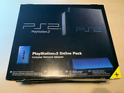 Sony Playstation 2 Ps2 Black Game System Brand New