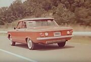 1960 Gm Chevrolet Corvair Promotional Film 16mm From Here To There Original