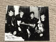 The Beatles With Pete Best Autographed Picture