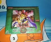 Yugioh Soul Of The Duelist 1st Edition Booster Box 24 Packs Sod Factory Sealed