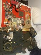 Original Ww2 Wwii And Various Militaria Military Items Lot
