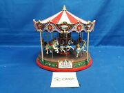 Lemax Village Collection Santa Carousel 34682 As Is Sc0063