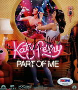 Katy Perry Signed Autograph 6x6 Part Of Me Promo Card Photo - Teenage Dream Psa
