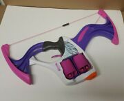 Nerf Rebelle Girls Flip Side Bow And 8 Og Darts. Purple And Pink Free Shipping.