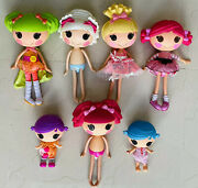 Lalaloopsy 2009 Doll 5 Ea. Full Size 12 And 2 Ea. 2011 Small Size 7 Lot Of 7