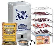 New Smokehouse Little Chief 9800 Top Load Electric 4 Grill Meat Smoker Cooker