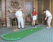 Big Moss Golf V2 Series The Augusta 4and039 X 12and039 Practice Putting Chipping Green