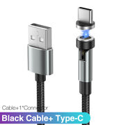 Type-c Usb C Data Line Magnetic Quick Charger Charge Cable For Samsung Xiaomi Lg