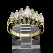 Estate 0.50 Ct Marquise Cut Natural Diamond 14k Gold Engagement Ring