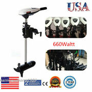 660w 65lbs Electric Trolling Motor Engine Outboard Motor Fishing Boat Engine Us