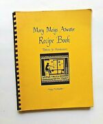 Mary Meigs Atwater Recipe Book Patterns For Handweavers  1969