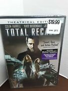 Total Recall Dvd, 2012 + Digital Copy Ultraviolet Colin Farrell New And Sealed