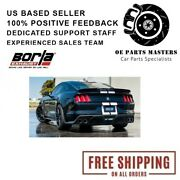 Borla Cat-back Exhaust Atak 140684 Fits 2015-2019 Mustang Shelby Gt350 5.2l