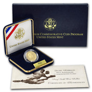 1997-w Jackie Robinson 50th Anniversary Five Dollar Gold Proof Coin